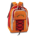 Kinder-Rucksack Junior active orange/feuerrot