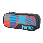 Nitro Pencil Case Stiftebox plaid red-blue